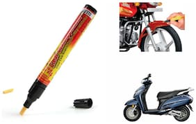 Mxs Bike Auto Smart Coat Paint Scratch Repair Remover Touch Up Pen - Honda Activa 125