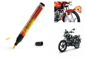 True Vision Bike Auto Smart Coat Paint Scratch Repair ReTrue Visionver Touch Up Pen - Mahindra Pantero