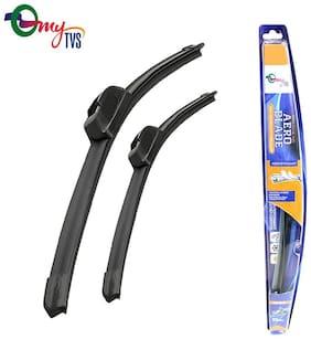 myTVS Wiper blades Set of 2 - 22 x 16 inch - Maruti Ritz 2009-2015