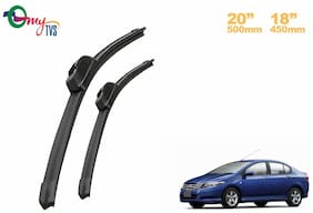 myTVS Wiper blades Set of 2 - 50.8 cm (20 inch) x 45.72 cm (18 inch)- Honda City