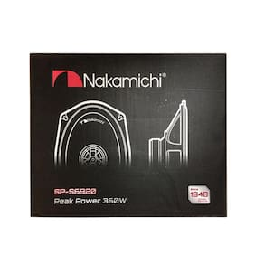 """Nakamichi SP-S6920 360W Max 6"""" x 9"""" 2-Way 4-Ohm Stereo Car Audio Coaxial Speaker"""