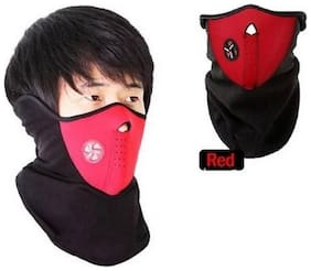 Neck Warmer With Filter Mask and Respirator