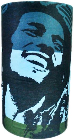 Netboys Printed Polyester Multipurpose 12 in 1 Bandana Multicolor