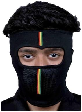 New Life Enterprise Balaclava Face Mask for Bikers- Free size (assorted stripe color)