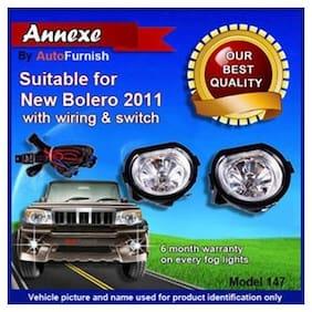 New Mahindra Bolero 2011 Fog Light LA Set of 2 Pcs. With Wiring