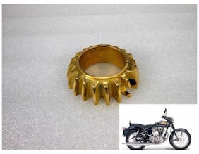 NEW ROYAL ERADO BIKE BEND EXHAUST PIPE BRASS MADE COOLING RING FIN 500CC before 2010 model non-twin spark