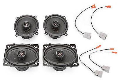 """NEW SKAR AUDIO 5.25/""""//4/"""" X 6/"""" COMPLETE SPEAKER PKG FOR 90-92 CHEVROLET LUMINA APV"""