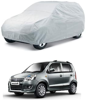 NEW WAGON-R 2010-DUSTPROOF SILVER CAR BODY COVER-HMS