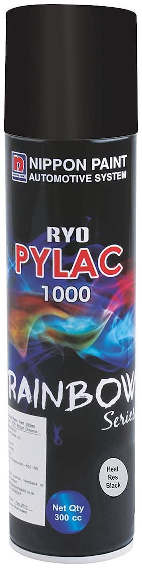 Nippon Paint Ryo Pylac 1000 Heat Res Black 300ml