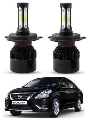 Nissan Sunny LED Headlights Night Eye Light Set Of 2