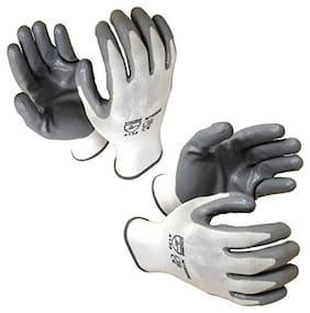 Nylon Anti Cut Safety Hand Glove( pair of 2)