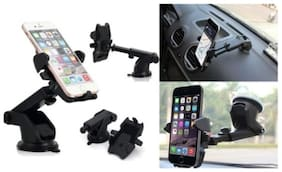 One touch Car Mobile Holder for Dashboard for all smart phone