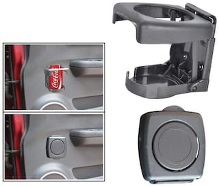 One Touch Folding Car Cane Holder / Cup Holder / Drink Holder For All Cars