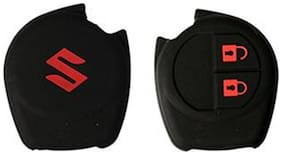 oneOeightdesigns Silicon Key Cover For Maruti Swift/Swift Dzire/Ertiga (Black)