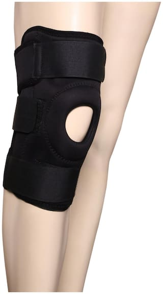 Applikon Open patela knee support with hinz (size-S)