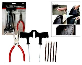 Original Coido 6081 Tyre Puncture Repair Kit For All Tubeless Tire Cars & Bikes