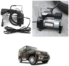 Oshotto 12V Portable Car Electric Inflator Pump Air Compressor 150PSI Electric Tire Tyre Inflator Pump Compatible with Mahindra Bolero
