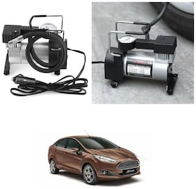 Oshotto 12V Portable Car Electric Inflator Pump Air Compressor 150PSI Electric Tire Tyre Inflator Pump for Ford Fiesta