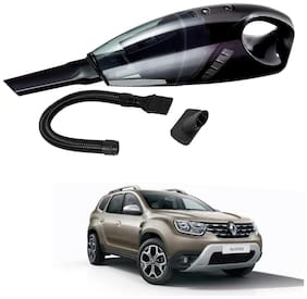 Oshotto 12V 100W Portable Car Vacuum Cleaner for Renault Duster (Black)