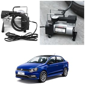 Oshotto 12V Portable Car Electric Inflator Pump Air Compressor 150PSI Electric Tire Tyre Inflator Pump Compatible with Volkswagen Ameo
