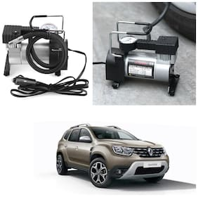 Oshotto 12V Portable Car Electric Inflator Pump Air Compressor 150PSI Electric Tire Tyre Inflator Pump Compatible with Renault Duster