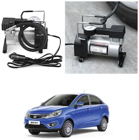 Oshotto 12V Portable Car Electric Inflator Pump Air Compressor 150PSI Electric Tire Tyre Inflator Pump for Tata Zest