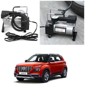 Oshotto 12V Portable Car Electric Inflator Pump Air Compressor 150PSI Electric Tire Tyre Inflator Pump for Hyundai Venue