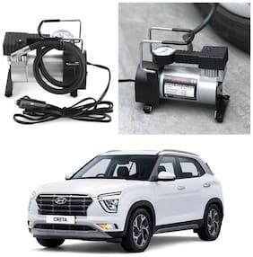 Oshotto 12V Portable Car Electric Inflator Pump Air Compressor 150PSI Electric Tire Tyre Inflator Pump for Hyundai Creta 2020