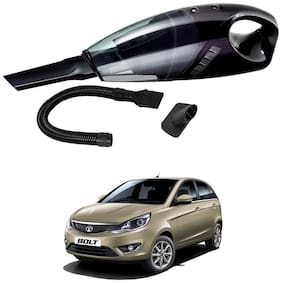 Oshotto 12V 100W Portable Car Vacuum Cleaner for Tata Bolt (Black)