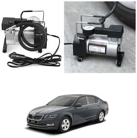 Oshotto 12V Portable Car Electric Inflator Pump Air Compressor 150PSI Electric Tire Tyre Inflator Pump for Skoda Octavia