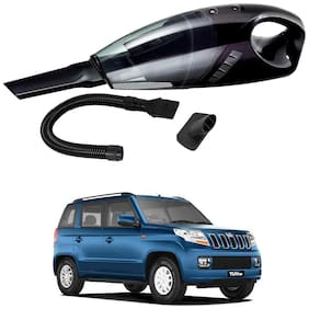 Oshotto 12V 100W Portable Car Vacuum Cleaner for Mahindra Tuv-300 (Black)