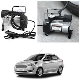 Oshotto 12V Portable Car Electric Inflator Pump Air Compressor 150PSI Electric Tire Tyre Inflator Pump Compatible with Ford Aspire