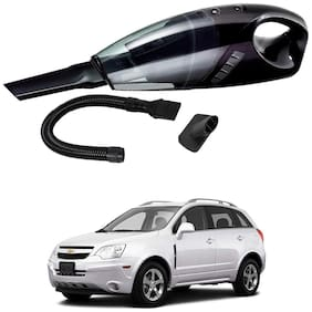 Oshotto 12V 100W Portable Car Vacuum Cleaner for Chevrolet Captiva (Black)