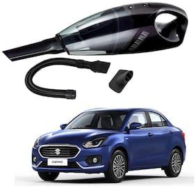Oshotto 12V 100W Portable Car Vacuum Cleaner for Maruti Suzuki Swift Dzire 2012-2020 (Black)