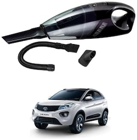 Oshotto 12V 100W Portable Car Vacuum Cleaner for Tata Nexon (Black)