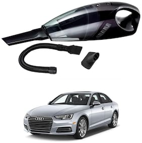 Oshotto 12V 100W Portable Car Vacuum Cleaner for Audi A4 2017 -2021 (Black)
