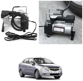 Oshotto 12V Portable Car Electric Inflator Pump Air Compressor 150PSI Electric Tire Tyre Inflator Pump for Chevrolet Sail