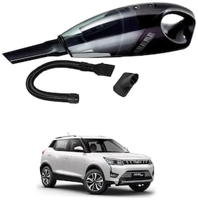 Oshotto 12V 100W Portable Car Vacuum Cleaner for Mahindra Xuv-300 (Black)
