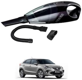Oshotto 12V 100W Portable Car Vacuum Cleaner for Toyota Glanza (Black)