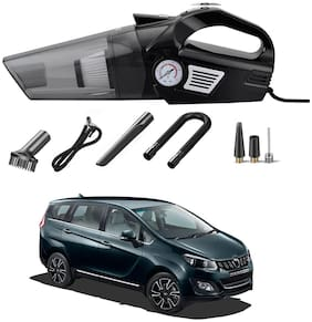 Oshotto 3-in-1  Tire Inflator Cum Car Vacuum Cleaner,with LED Light,12V DC Air Pump,15FT Cord with HEPA Filter and Nozzles Compatible with Mahindra Marazzo
