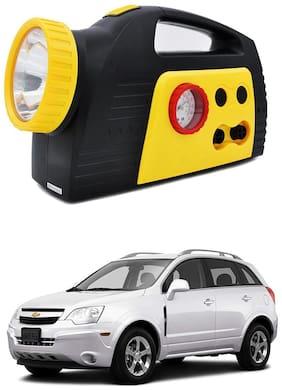 Oshotto 300PSI;12V Tire air pump/Compressor for Chevrolet Captiva (Black;Yellow)