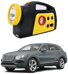 Oshotto 300PSI;12V Tire air pump/Compressor for Bentley Bentayga (Black;Yellow)
