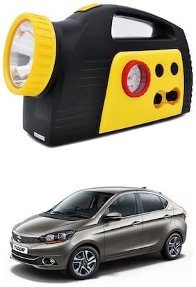 Oshotto 300PSI;12V Tire air pump/Compressor for Tata Tigor (Black;Yellow)