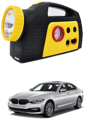 Oshotto 300PSI;12V Tire air pump/Compressor for BMW 5 Series (Black;Yellow)