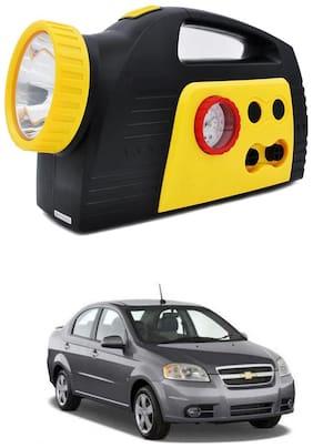 Oshotto 300PSI;12V Tire air pump/Compressor for Chevrolet Aveo (Black;Yellow)