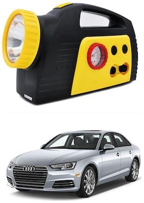 Oshotto 300PSI;12V Tire air pump/Compressor for Audi A4 2017 Onward (Black;Yellow)
