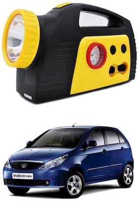 Oshotto 300PSI;12V Tire air pump/Compressor for Tata Vista/Bolt (Black;Yellow)