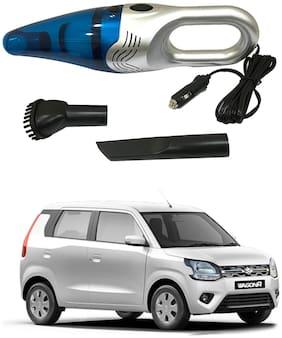 Oshotto 3500PA 12V (OSHO-VC-03) 100W Portable Car Vacuum Cleaner Compatible with Maruti Suzuki WagonR 2019 (Silver)