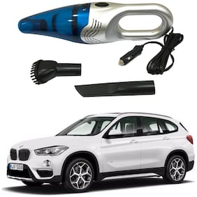 Oshotto 3500PA 12V (OSHO-VC-03) 100W Portable Car Vacuum Cleaner Compatible with BMW X1 (Silver)