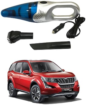 Oshotto 3500PA 12V (OSHO-VC-03) 100W Portable Car Vacuum Cleaner Compatible with Mahindra Xuv-500 (Silver)